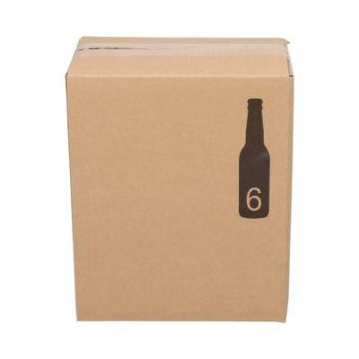Afbeelding voor Verzenddoos voor 12 bierflessen