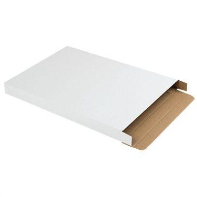 Afbeelding voor Witte brievenbusdoos (met zijklep) A4+