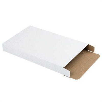 Afbeelding voor Witte brievenbusdoos (met zijklep) A6