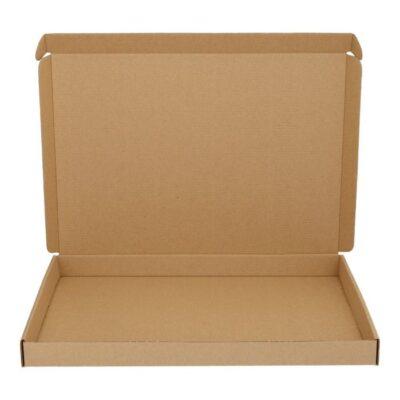 Afbeelding voor Bruine brievenbusdoos (met bovenklep) A4+