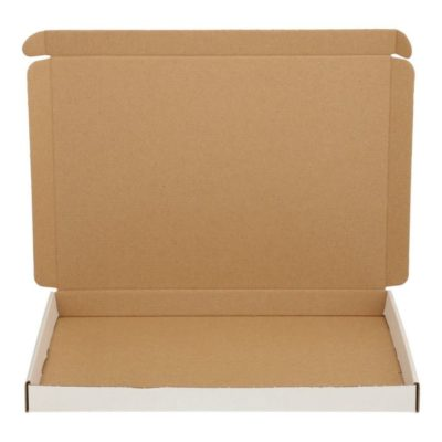 Afbeelding voor Witte brievenbusdoos (met bovenklep) A4+