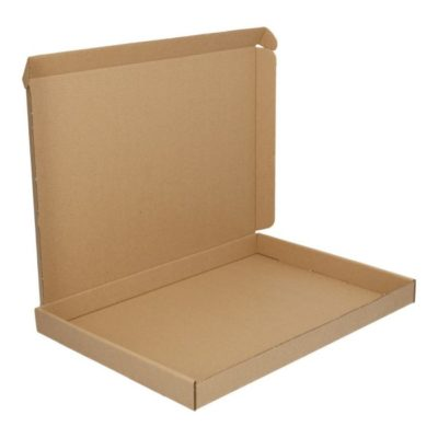 Afbeelding voor Brown cardboard envelope with upper lid (A5+)