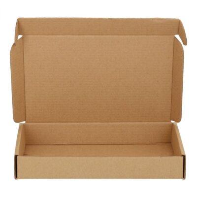 Afbeelding voor Brown cardboard envelope with upper lid (A6)