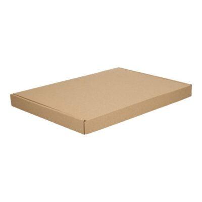 Afbeelding voor Brown cardboard envelope with upper lid (A4+)