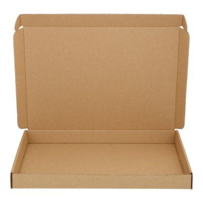Afbeelding voor Brown cardboard envelope with upper lid (A4)