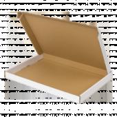 Witte brievenbusdoos (met bovenklep) A4
