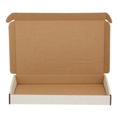 Afbeelding voor Witte brievenbusdoos (met bovenklep) A5+