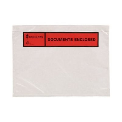 Afbeelding voor Paklijst envelop A5 (Documents enclosed)