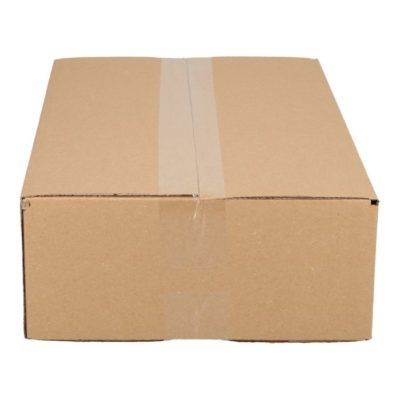 Afbeelding voor Single wave shipping box (43 x 24,5 x 10 cm)