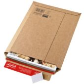 Cardboard envelope with adhesive tear-off strip (18,5 x 27 cm)