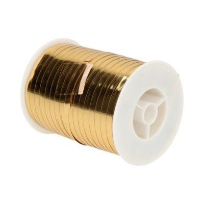 Afbeelding voor Gouden cadeaulint krulband (500 meter)