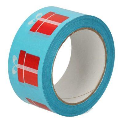 Afbeelding voor Feestelijke tape met cadeaubedrukking
