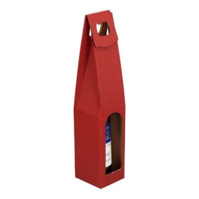 Afbeelding voor Draagkarton wijnfles (1 fles)