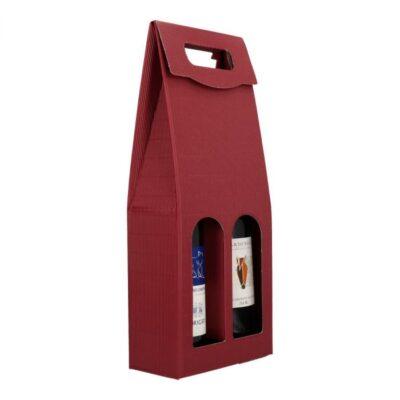 Afbeelding voor Draagkarton wijnfles (2 flessen)