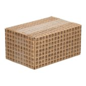 Single wave shipping box present (18,6 x 12,4 x 8,8 cm)