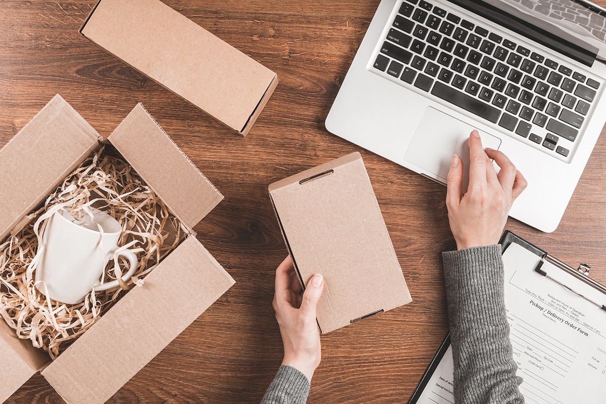 dozen ondernemer webshop laptop