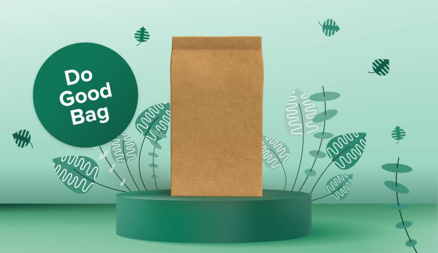 Afbeelding voor Met de Do Good Bag ga je mee met de tijd.