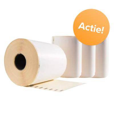 Afbeelding voor Etiketten Actiepakket voor Dymo ( 4 rollen)